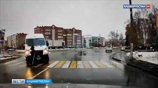 Момент смертельного наезда на бабушку в Башкирии попал на видео