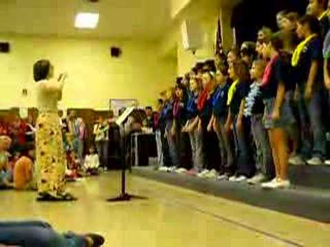 Hill Elementary 4th Grade Choir - Music Brings Us Together