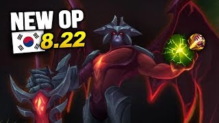 8 New OP Builds and Champs in Korea Patch 8.22 SO FAR (League of Legends)