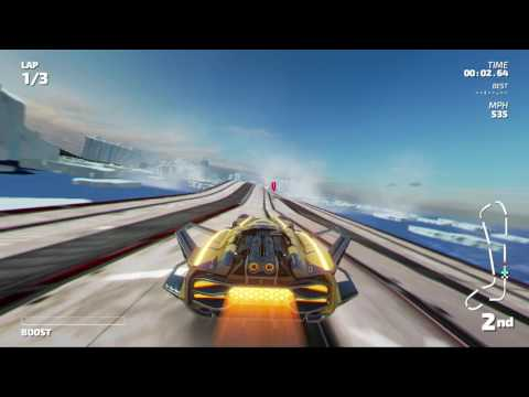 Fast RMX - Championship Mode - Thorium Cup (Subsonic)