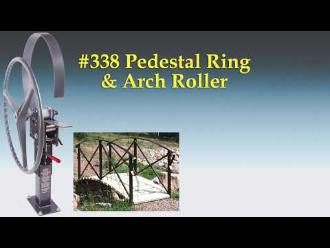 338 Pedestal Ring Roller - Metal Tube Bending Fabrication Tool - ShopOutfitters.com
