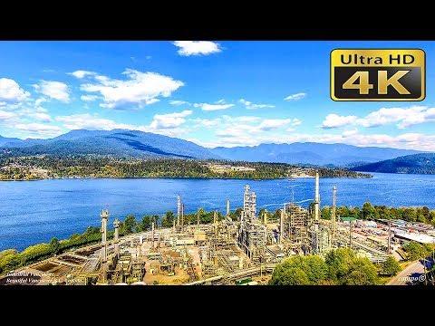 4K Industrial Vancouver  British Columbia Canada