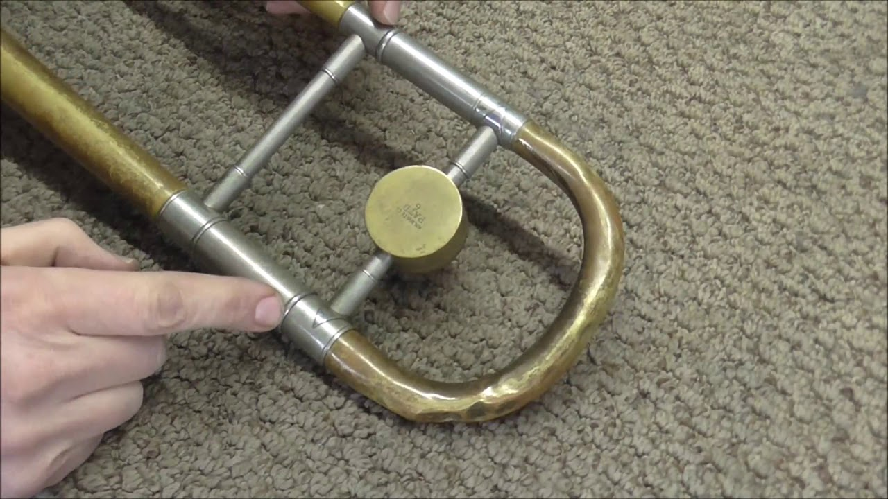 How To Remove A Stuck Trombone Tuning Slide