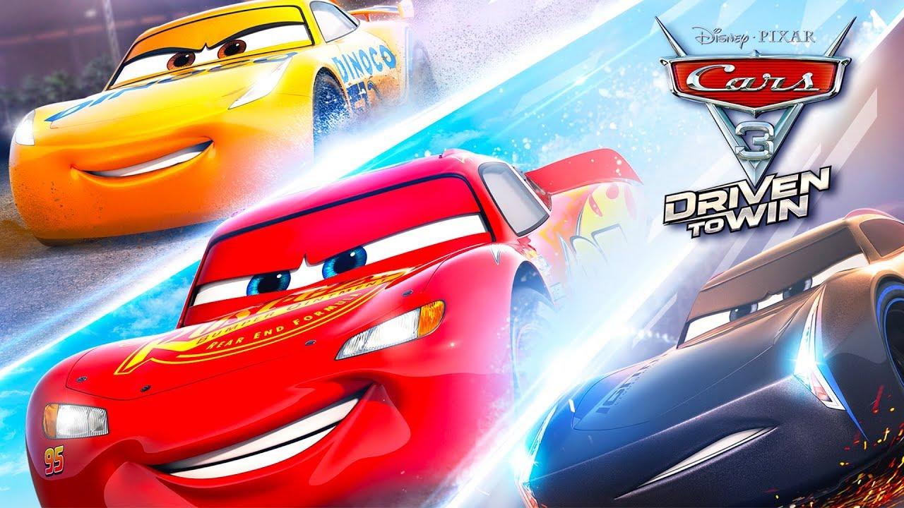 CARS 3 Flash McQueen Voiture Jeux Vidéo de Dessin Animé en ...