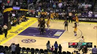 Condensed Game: Tulsa Shock vs. Los Angeles Sparks,6/19/2014