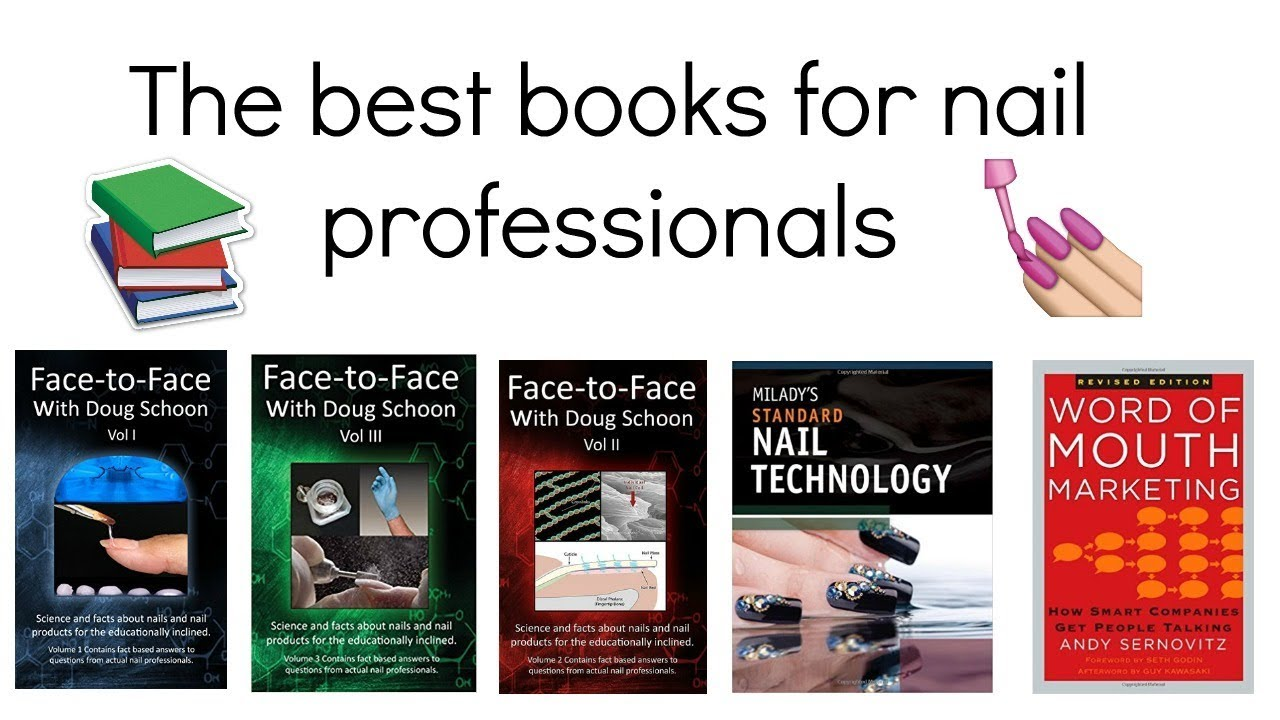Best books for nail technicians - YouTube