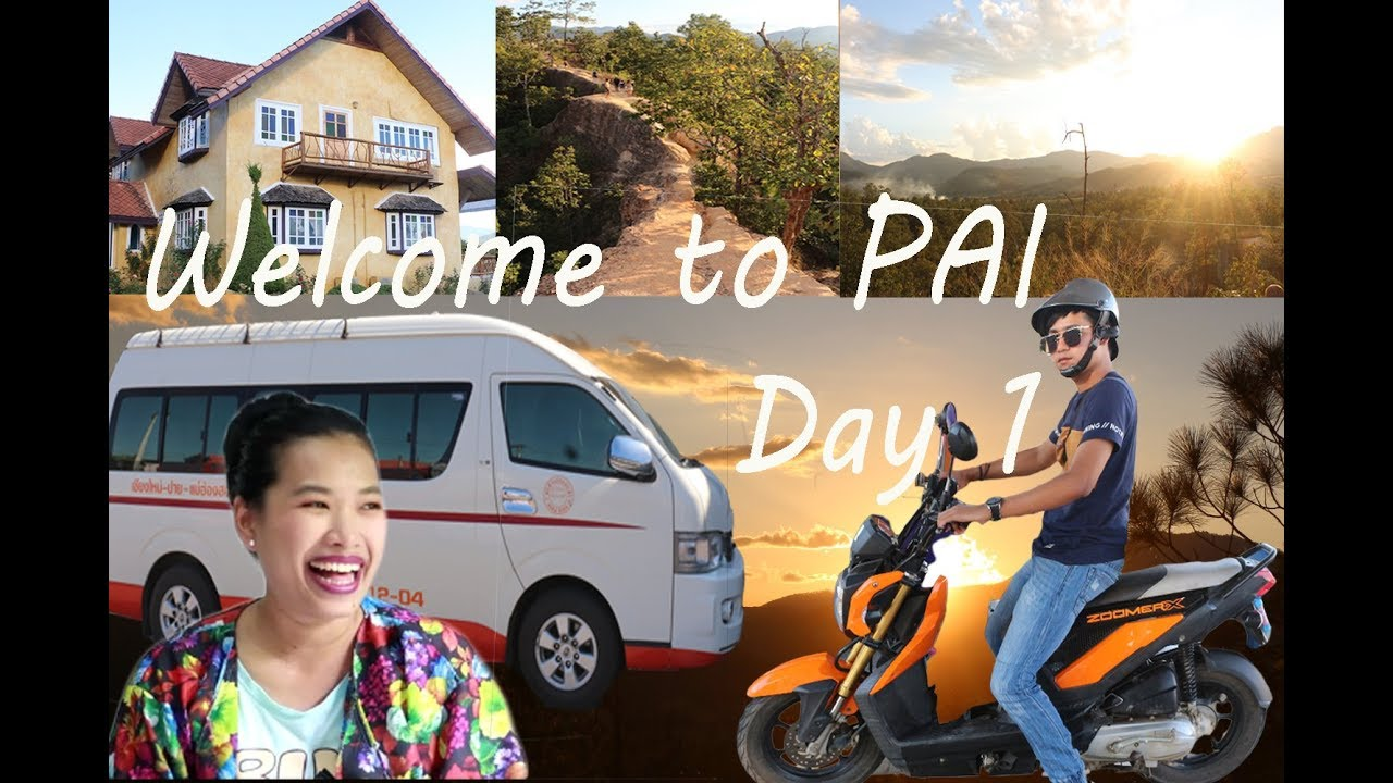 How to travel to Pai,Meahongson,Thailand day 1 By the MuMii Show