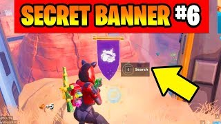 Find the Secret Banner in loading screen 6 Fortnite , Secret Battle Star Replaced Season 7