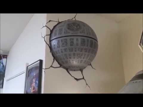 Star Wars Death Star Paint Modification Youtube