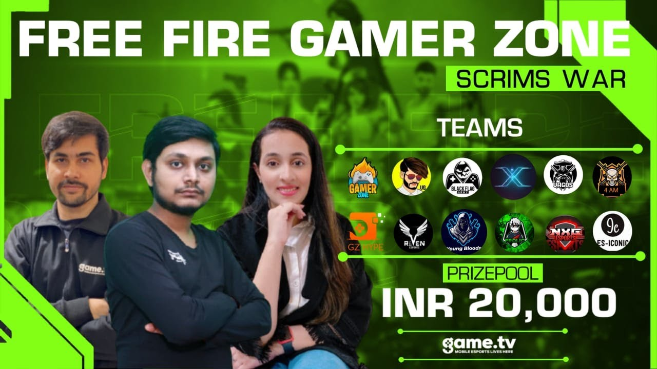 Free Fire Gamer Zone Grand Finals - Powered by Game.tv | India's #1 Mobile Esports Platform