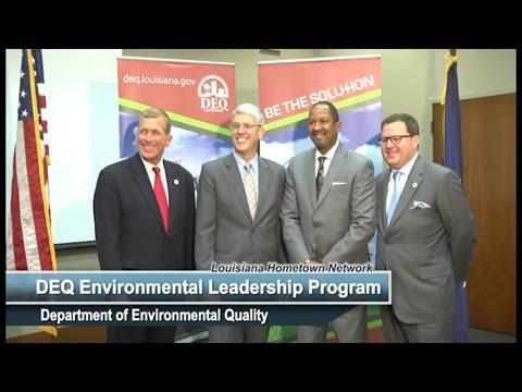 LDEQ's 2016 Environmental Leadership Program (ELP) Awards