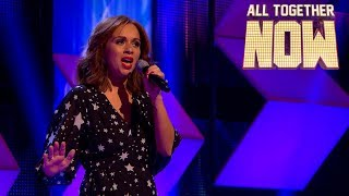 Chloe fights for a chance in the final with pop ballad Get Here by Brenda Russell | All Together Now
