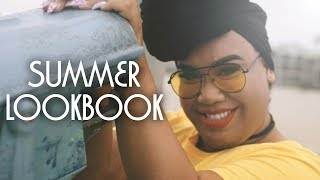 PLUS SIZE SUMMER LOOKBOOK | PatrickStarrr