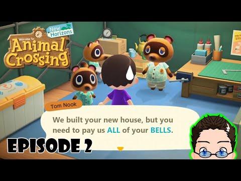 Animal Crossing: New Horizons - Episode 2 - New House