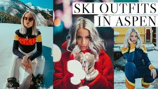 Ski Gear - WHAT I WORE SKIING IN ASPEN | EAT, SKI AND CHAT WITH US