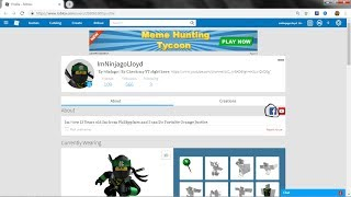 How to put FB to roblox Profile