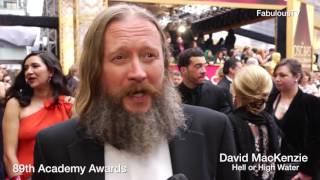 Hell Or High Water Director 'David Mackenzie' At The Oscars On FabulousTV