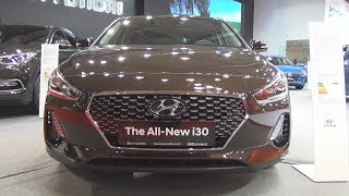 Hyundai i30 1.4 T GDi 7DCT Premium Avantgarde 2018 Exterior and Interior смотреть