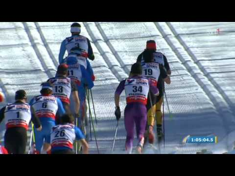 Val di Fiemme 2013 World Ski Championships: Men's 50km C Mst - Full race