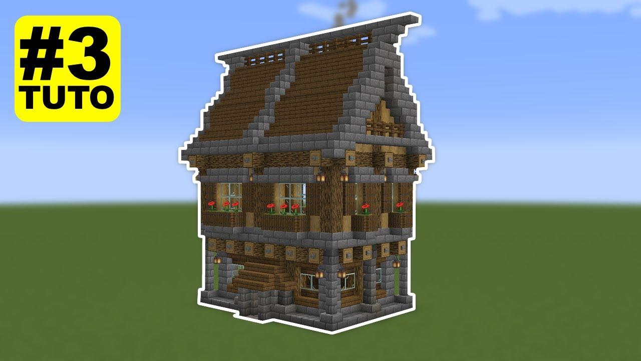 Tuto Maison Medieval Facile A Faire 3 Minecraft Youtube