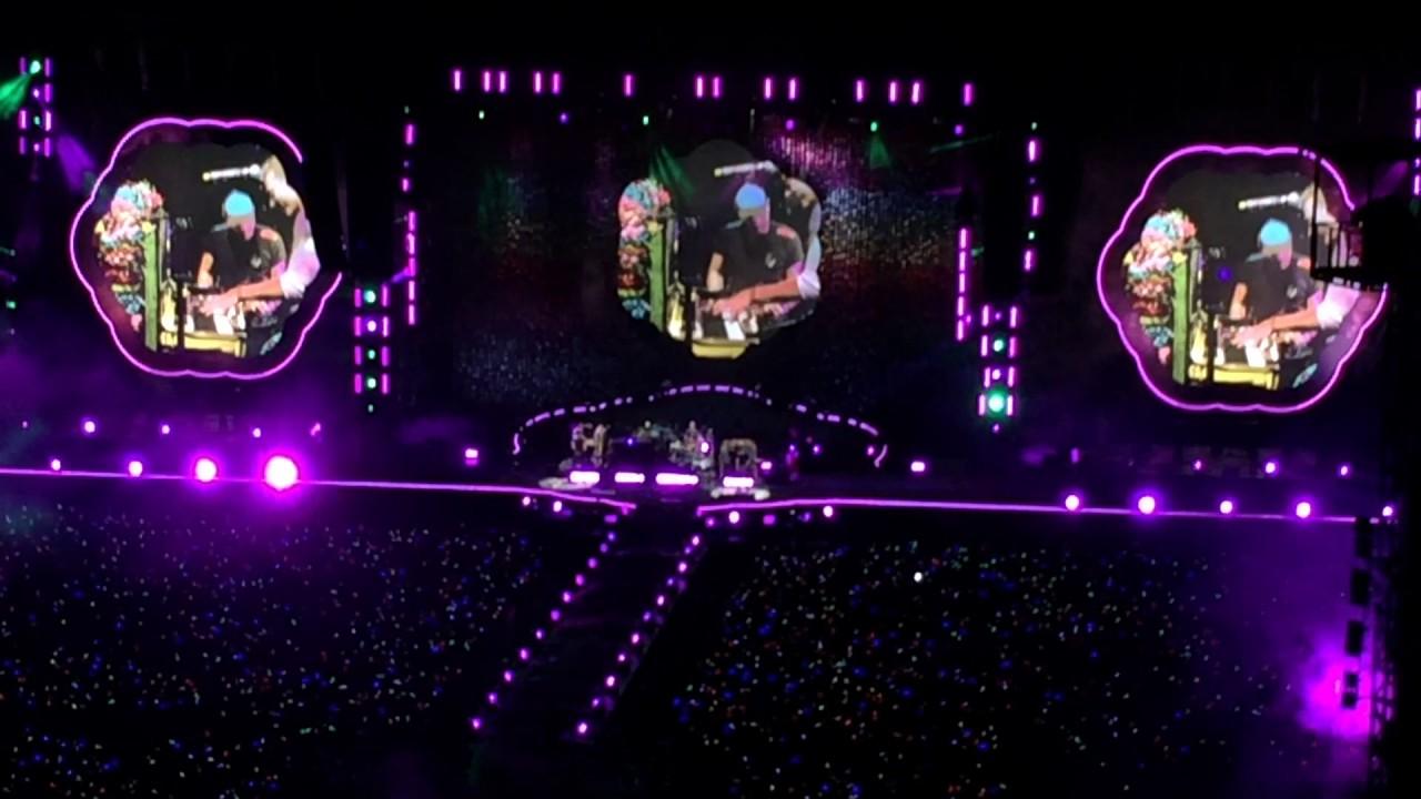 Paradise - Coldplay Live in Bangkok 2017(At Rajamangala ...