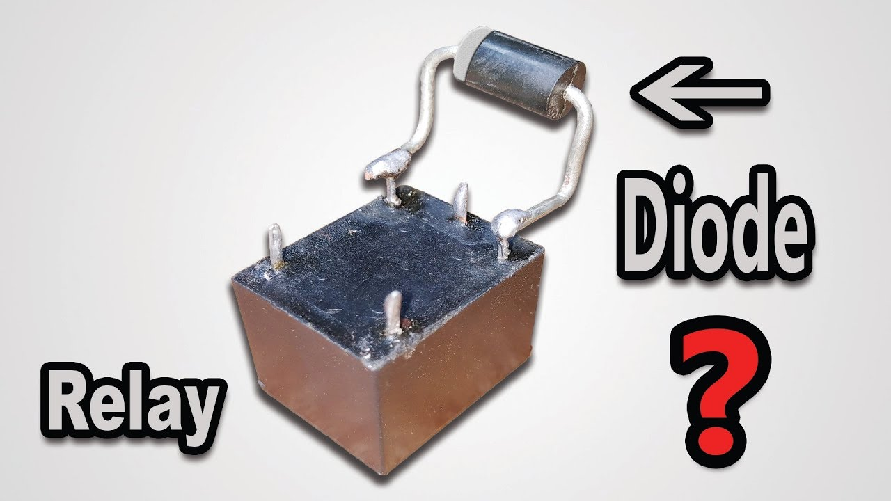 Why Diode Is Needed   Used   Necessary   Mandatory In Relay