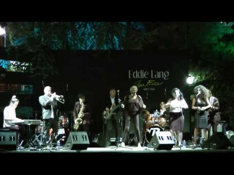 Martha High & The Froomees live in Italy @ Eddie Lang Jazz Festival 2013