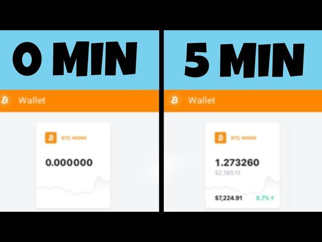 guadagnare bitcoin ogni 5 minuti