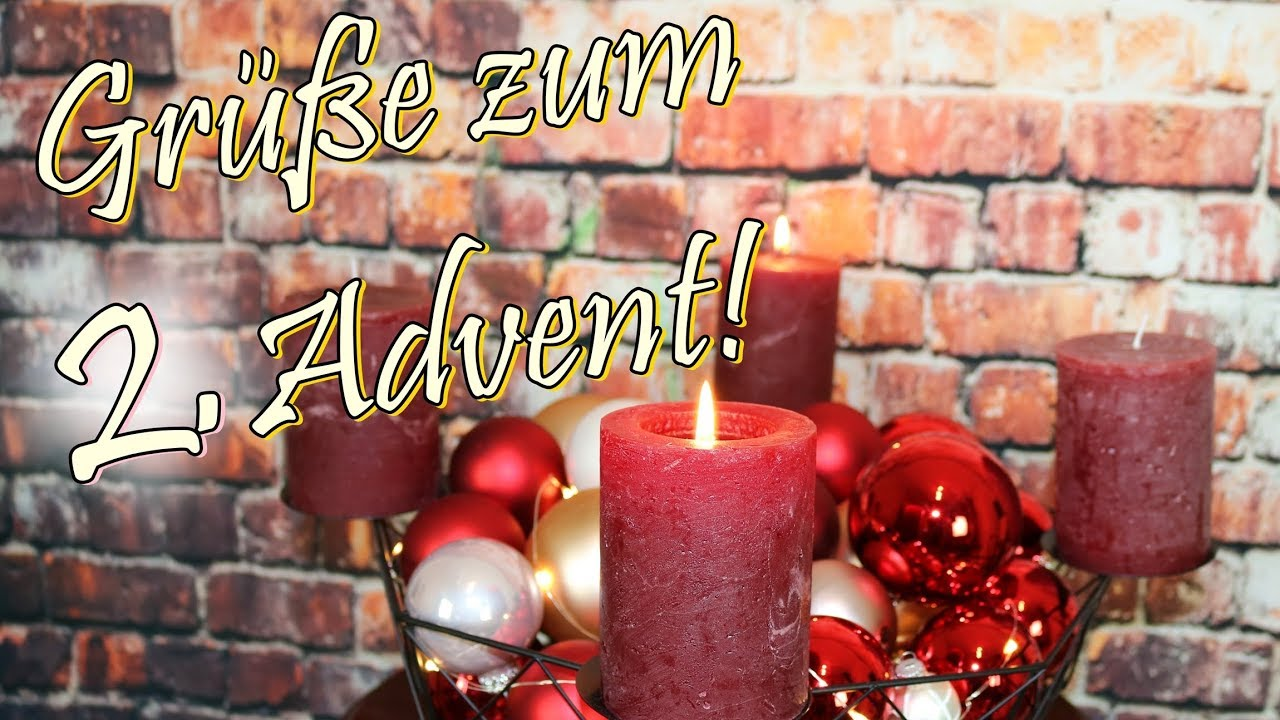 adventsgr e video zum 2 advent whatsapp w nsche frieden. Black Bedroom Furniture Sets. Home Design Ideas