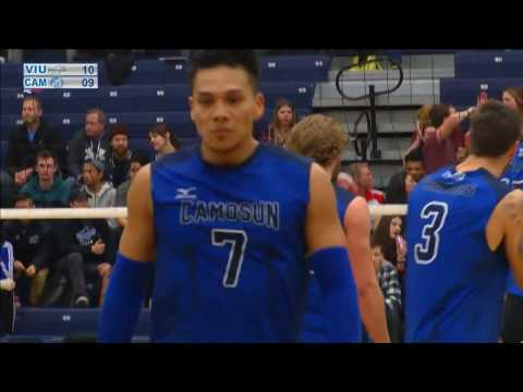 Camosun Chargers vs VIU Mariners - 2017 PACWEST Men's Volleyball Gold Medal Finals