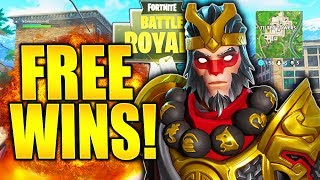 HOW TO GET FREE SOLO WINS FORTNITE BLITZ TIPS AND TRICKS! HOW TO GET BETTER AT FORTNITE BEST TIPS!