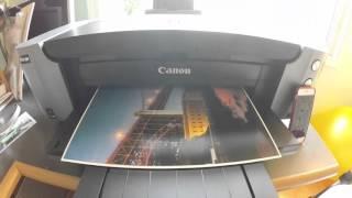 "Canon Pixma Pro 100 13"" x 19"" test print first impressions"