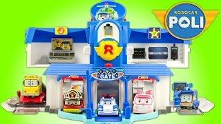 Quartier Général Robocar Poli Headquarters Toy Review Juguetes 로보카폴리 Jouet