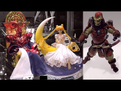 New York Toy Fair 2017 Tamashii Nations Full Booth Tour S.H. Figuarts Bandai Nintendo Star Wars