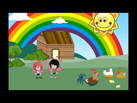 ♫♪ DE COLORES ♫♪ canción infantil completa con dibujos animados