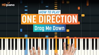 "How To Play ""Drag Me Down"" by One Direction 