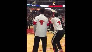 Jimmy Butler vs Nikola Mirotic
