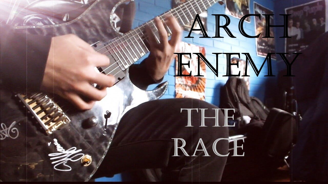 Arch Enemy The Race Dual Guitar Cover All Guitars Youtube