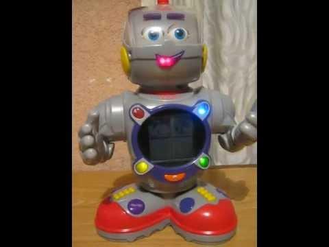 kasey kinderbot fisher price robot interactivo youtube. Black Bedroom Furniture Sets. Home Design Ideas