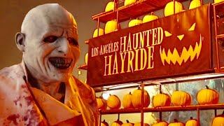 Los Angeles Haunted Hayride 2018 Opening Night - Inside The Mazes & Scare Zones At Old Abandoned Zoo