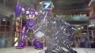 Noisy Boy vs Zeus (REAL STEEL)