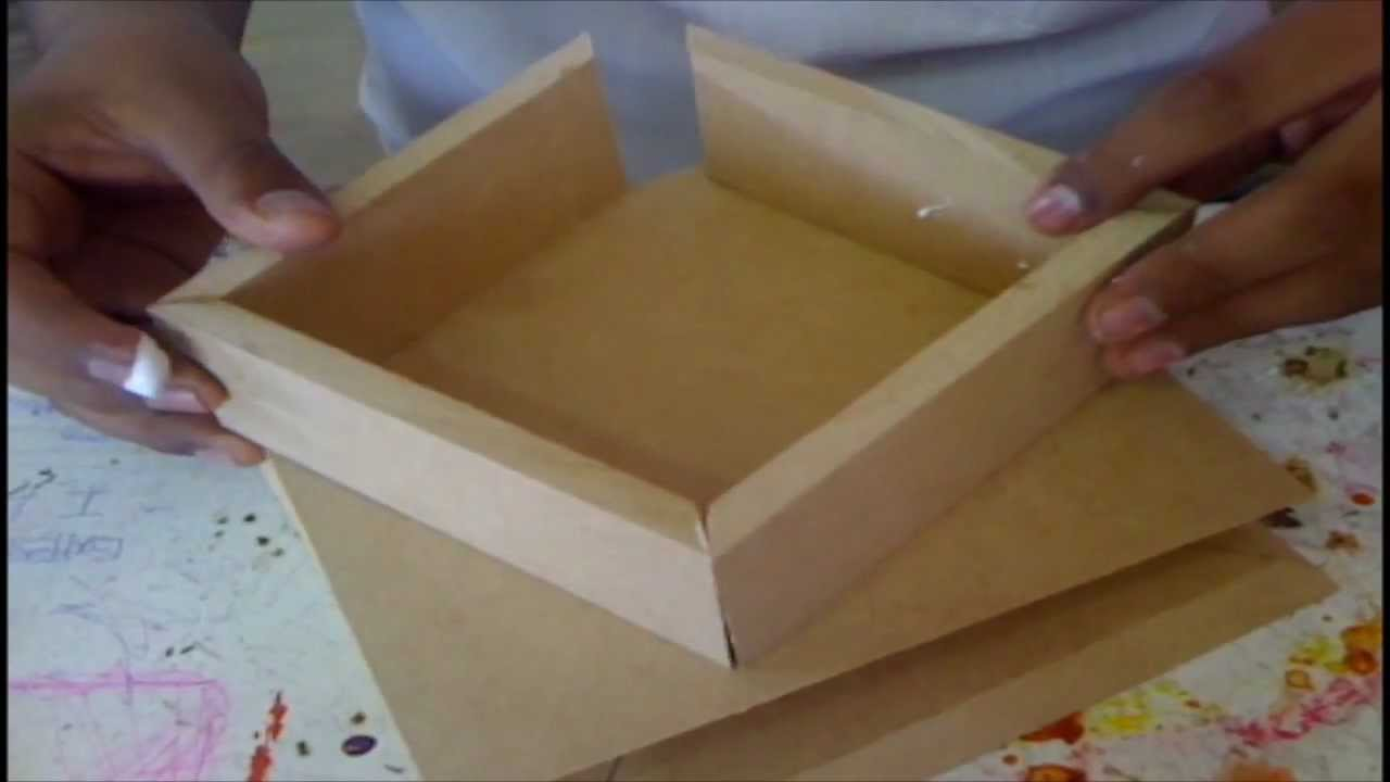 Elaboracion de caja de madera parte 3 youtube - Como hacer una caja ...