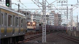 【2018】6~9月の旅客・貨物列車【武蔵野・総武・信越・中央線ほか】