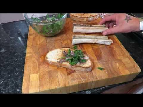 Roasted Beef Marrow Bone On Toast. #SRP