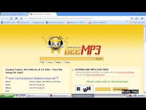 How to get free music using beemp3