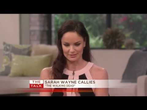 The Talk   Sarah Wayne Callies Shocker