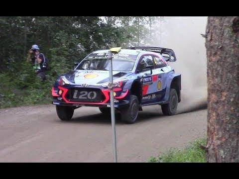 Neste Rally Finland 2018 Day 1