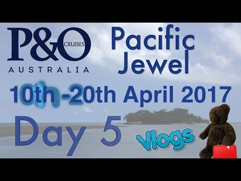 Day 5 | Port Vila, Vanuatu | P&O Pacific Jewel | 10th - 20th April 2017 | Easter Cruise