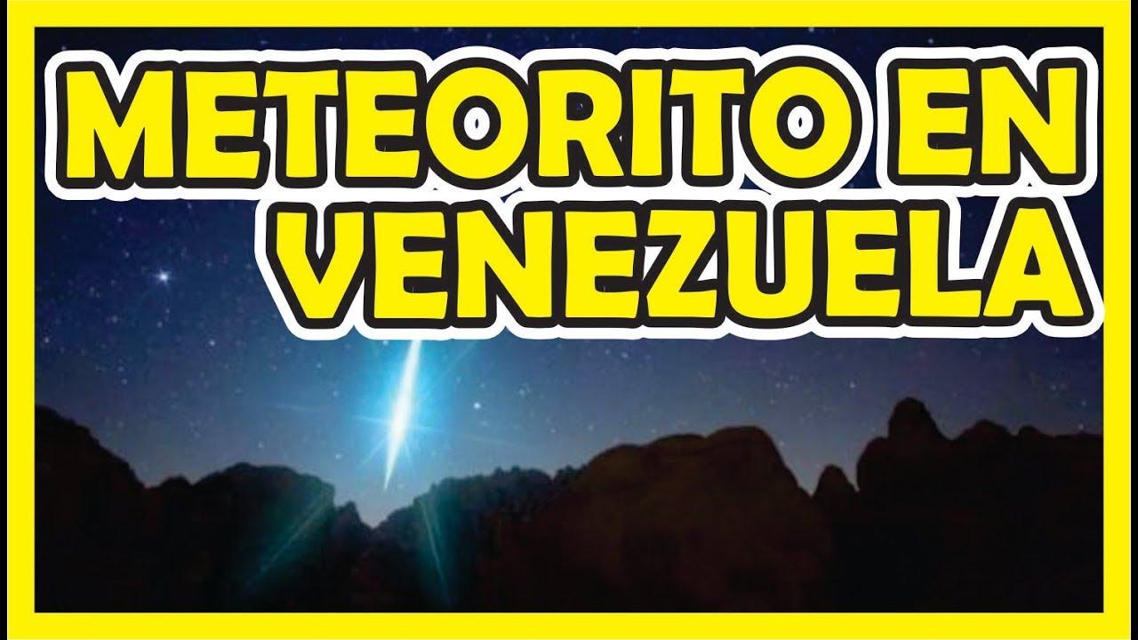 Meteorito En Venezuela: CAE METEORITO EN LA CIUDAD DE VALENCIA EN VENEZUELA