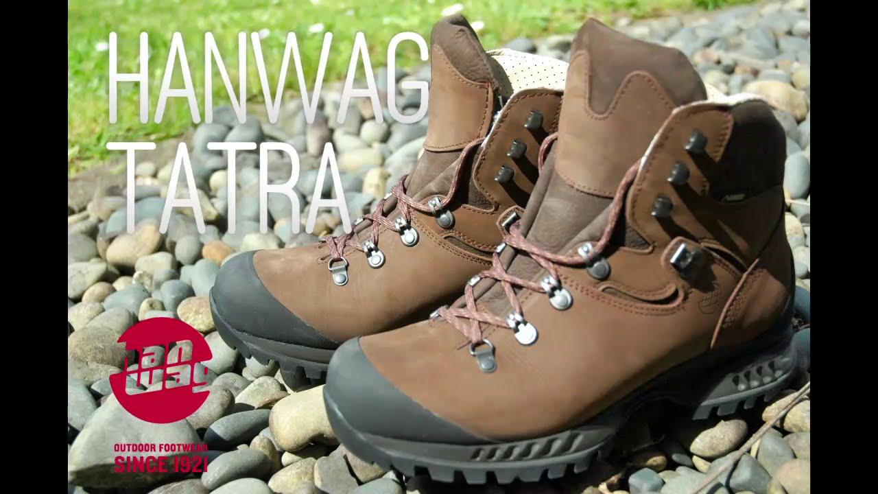 HANWAG Tatra GTX boots review - YouTube c364352d5b9
